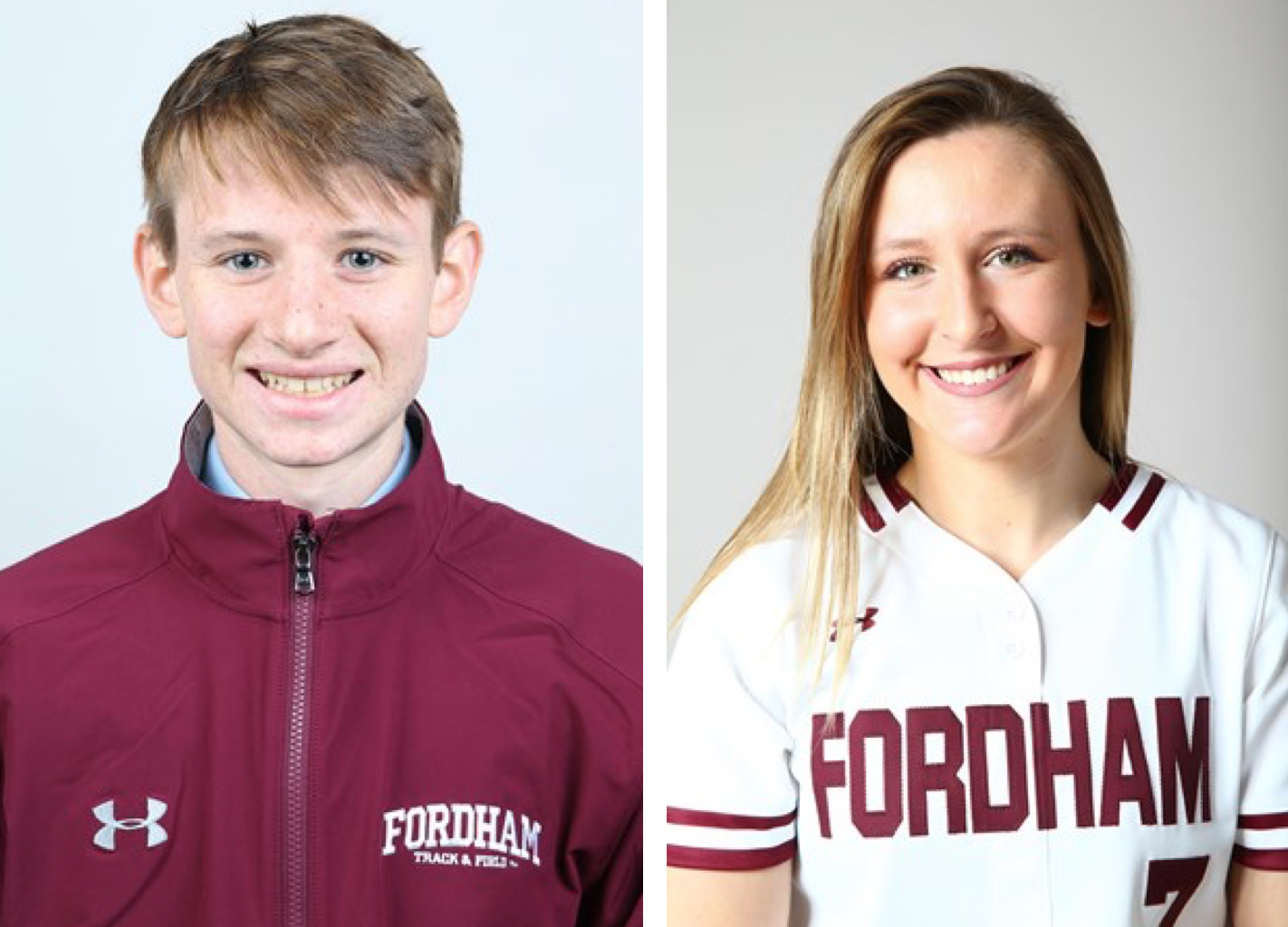 Athletes of the Week for the week of 4/3-4/9 (Courtesy of Fordham Athletics)