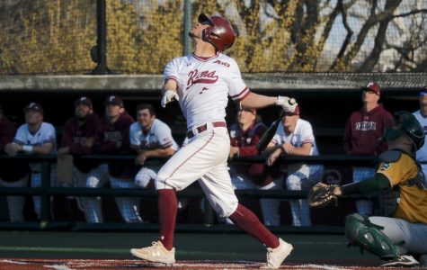 Behind a stellar pitching staff, Fordham baseball are now winners of four straight games to vault them to fourth place in the Atlantic-10 Conference. (Julia Comerford/The Fordham Ram)