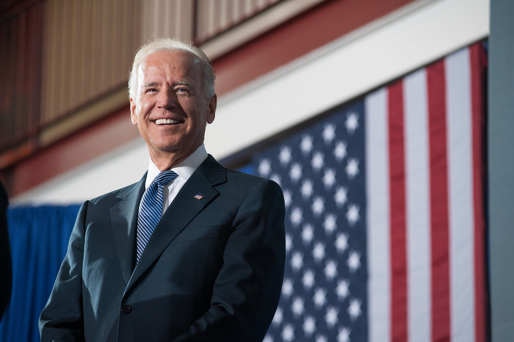 Former Vice President Biden holds a moderate appeal which could allow him to defeat President Trump in 2020. (Courtesy of Flickr)
