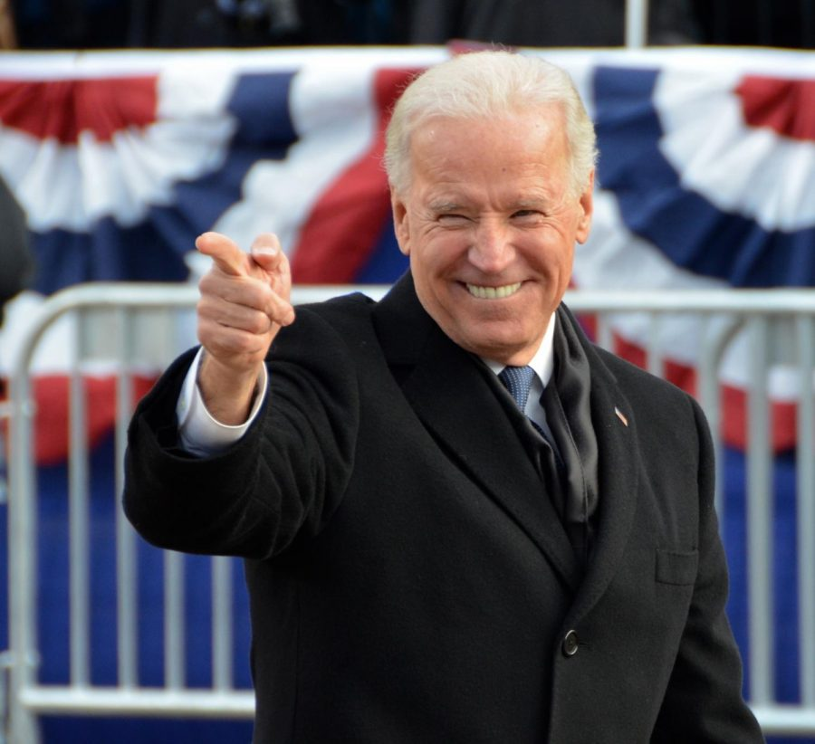 Former+Vice+President+Biden+has+been+accused+of+acting+inappropraitely+with+women%2C+but+should+still+enter+the+race.+%28Courtesy+of+Flickr%29