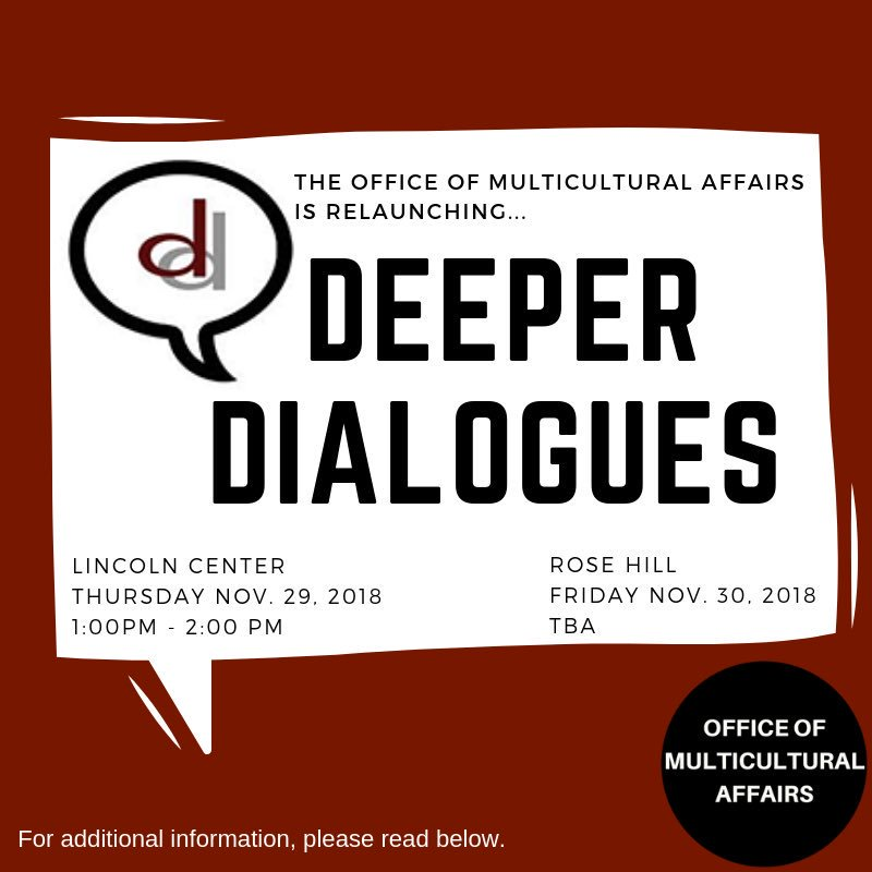 Deeper+Dialogues+is+a+program+at+Fordham+that+promotes+diversity+on+campus.+%28Courtesy+of+Twitter%29