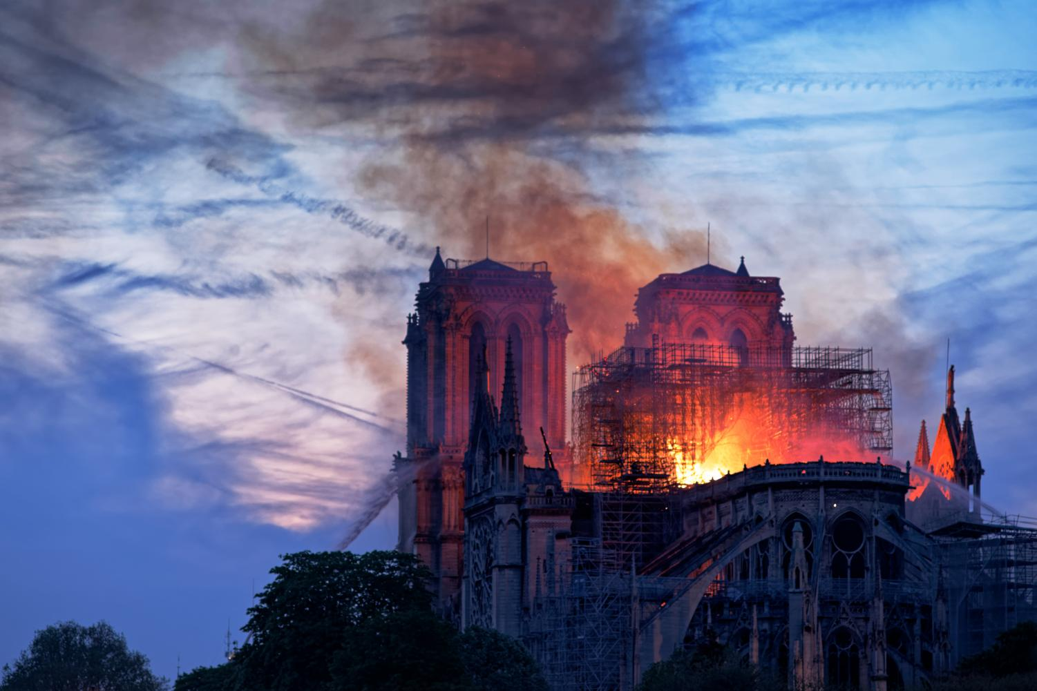 While the Notre Dame Cathedral is a vital part of history, wealthy people should reconsider what pushes them to charity. (Courtesy of Flickr)