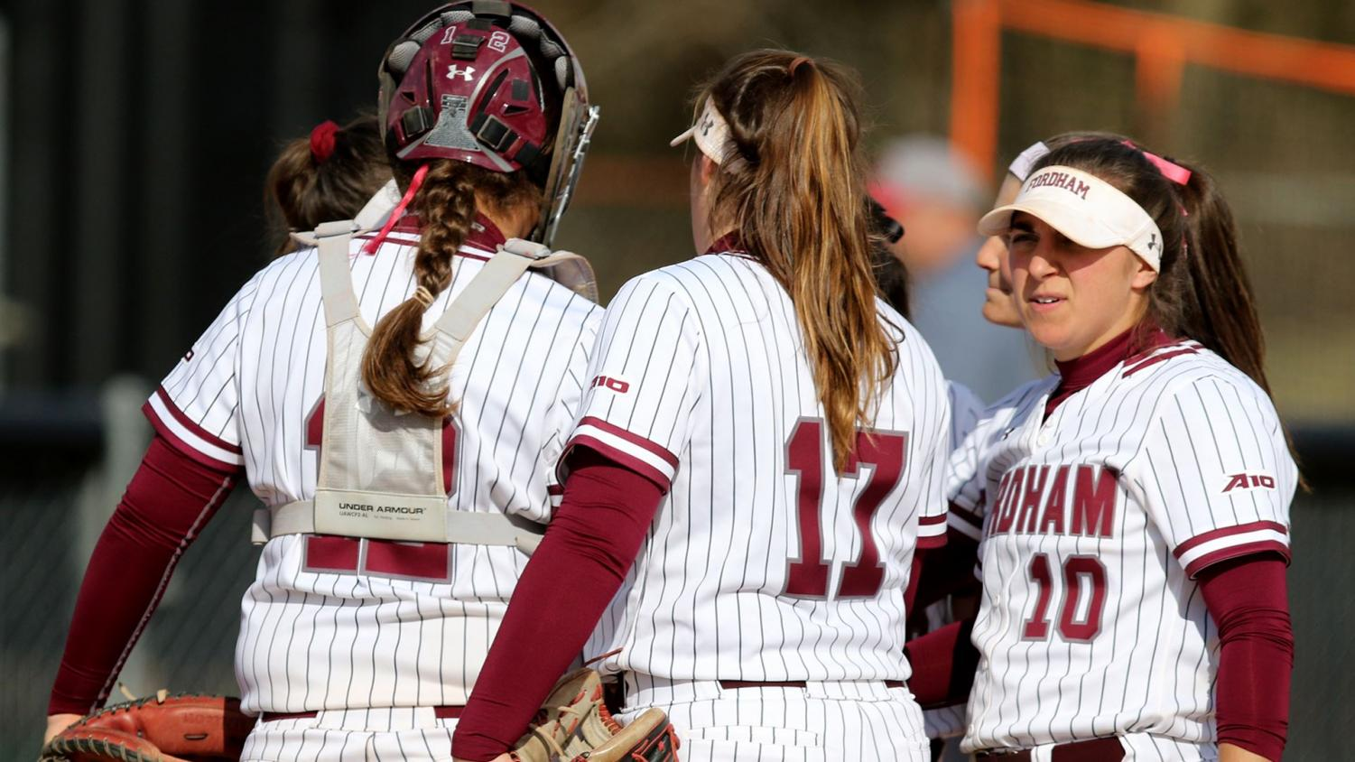 Fordham Softball took two out of three from George Mason but couldn't secure a sweep. (Courtesy of Fordham Athletics)