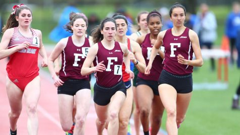 Kenny Sets New Records for Fordham Track