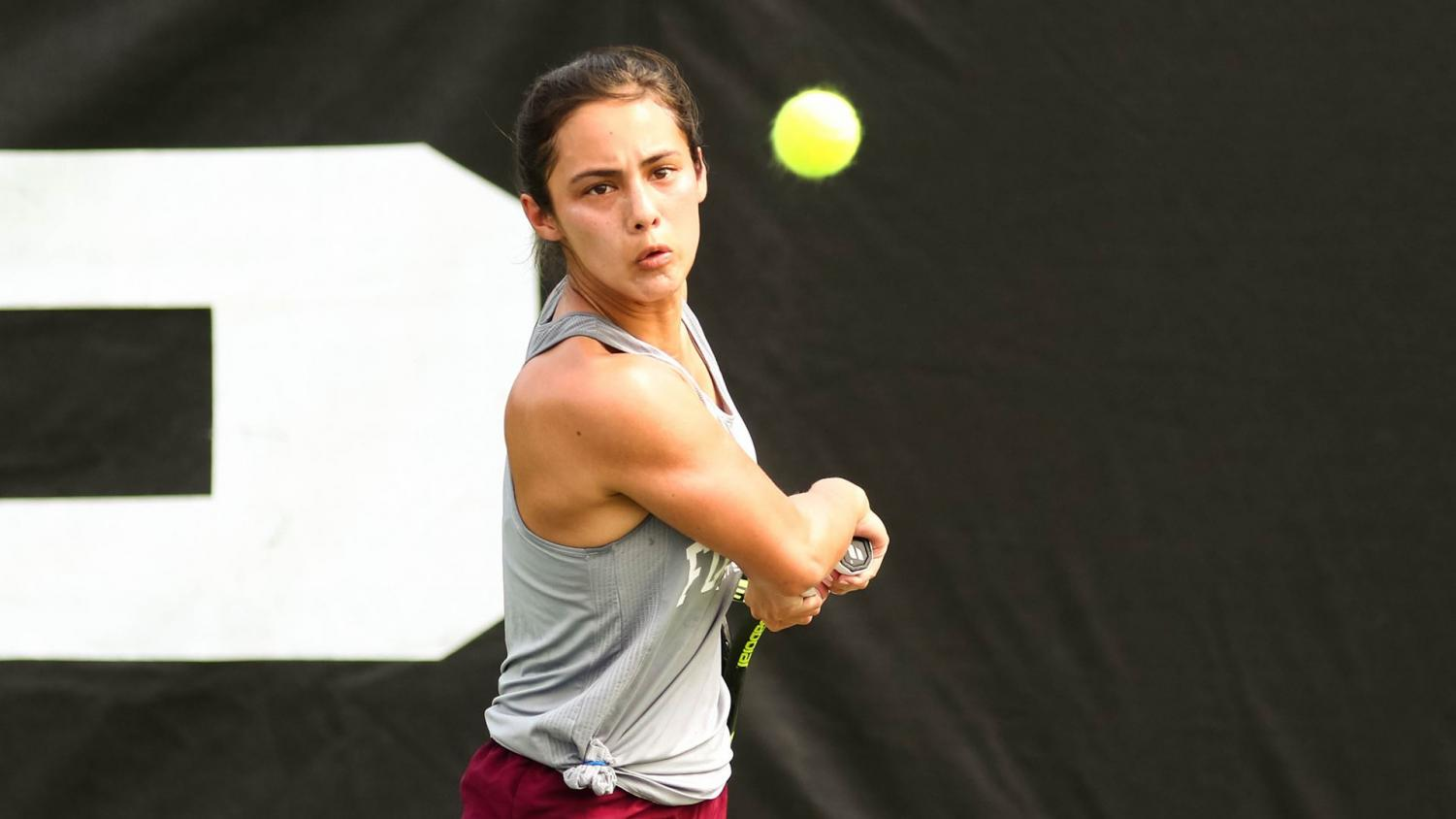 Fordham Women's Tennis ends its season with an overall record of 11-11. (Courtesy of Fordham Athletics)