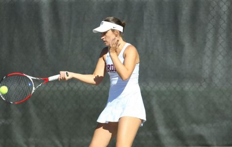 Fordham Women's Tennis had an up-and-down week this past week. (Courtesy of Fordham Athletics)