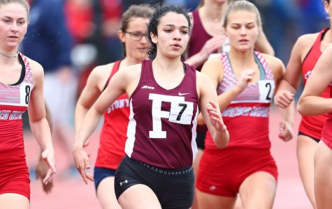 Fordham Track is performing at its best as the outdoor season winds down. (Courtesy of Fordham Athletics)