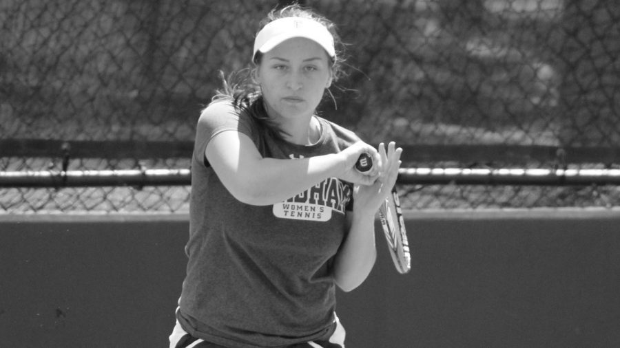 Fordham+Women%E2%80%99s+Tennis+had+its+fair+share+of+struggles+at+this+past+weekend%E2%80%99s+Cissie+Leary+Invitational+at+Penn+University.+%28Courtesy+of+Fordham+Athletics%29