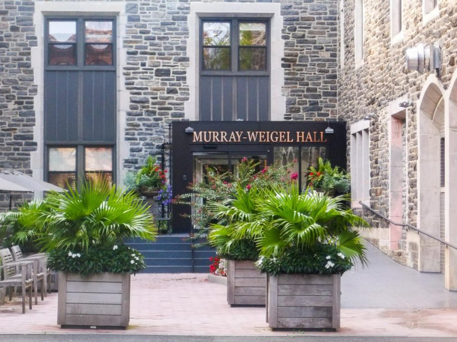 Rev. William J. O'Malley Removed from Murray-Weigel Hall