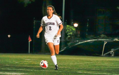 Fordham Women's Soccer is off to a slow start offensively. (Julia Comerford/The Fordham Ram)