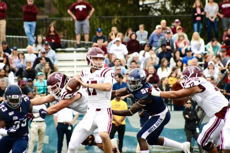 Fordham Wins First Patriot League Contest Since 2009, Defeats Holy Cross, 45-16