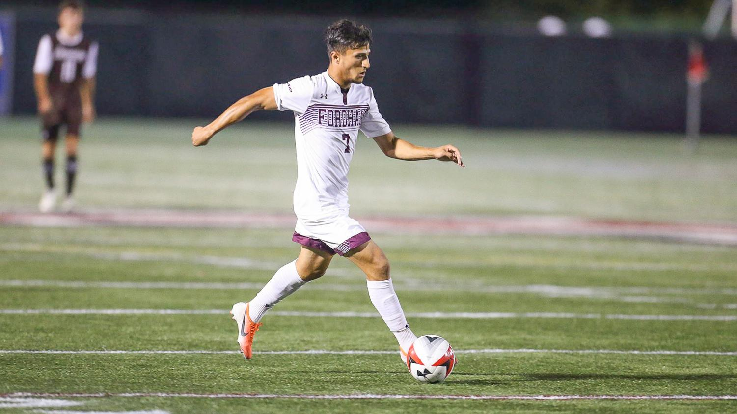 Men's Soccer now sits at 3–1 in the 2019 Atlantic 10 Conference standings. (Courtesy of Fordham Athletics)