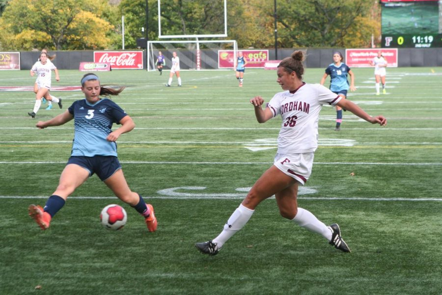 Women%E2%80%99s+Soccer+avoided+a+disappointing+result+at+home+to+Rhode+Island.+%28Alex+Wolz%2FThe+Fordham+Ram%29