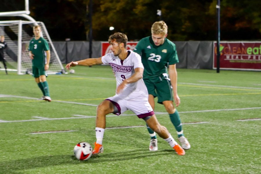 Men%27s+Soccer+falls+to+Columbia+in+Non-Conference+Play