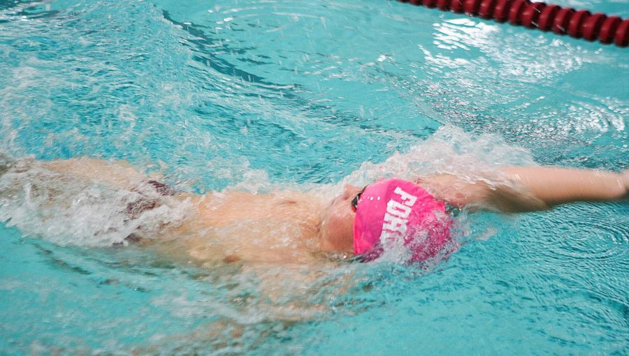 Fordham+Swimming+and+Diving+had+variant+outcomes+to+open+the+season.+%28Alex+Wolz%2FThe+Fordham+Ram%29
