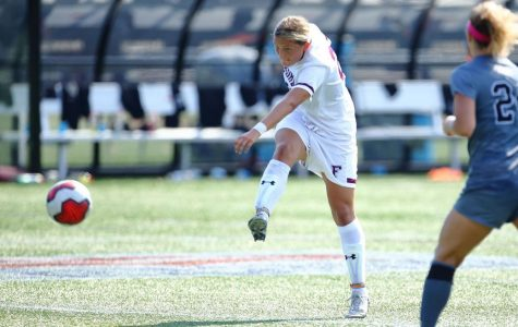 Stanco's First-Career Goal Sends Women's Soccer to A-10s