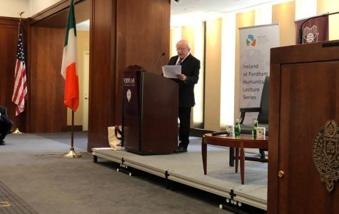 President of Ireland Gives Address About Humanitarianism