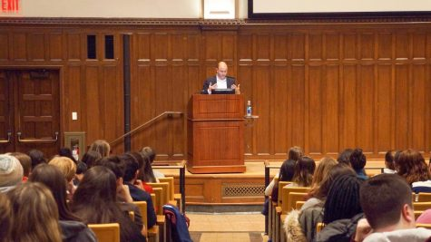 Ben Rhodes, a fromer advisor to president Obama, spoke in Keating First about the 2020 election, impeachment and his time in the Obama administration.