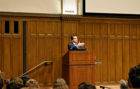 College Republicans Host Speaker Event with Anthony Scaramucci