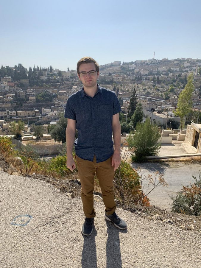 Gregory+Hopp+FCRH+%2721+is+doing+Research+while+studying+abroad+in+Jordan
