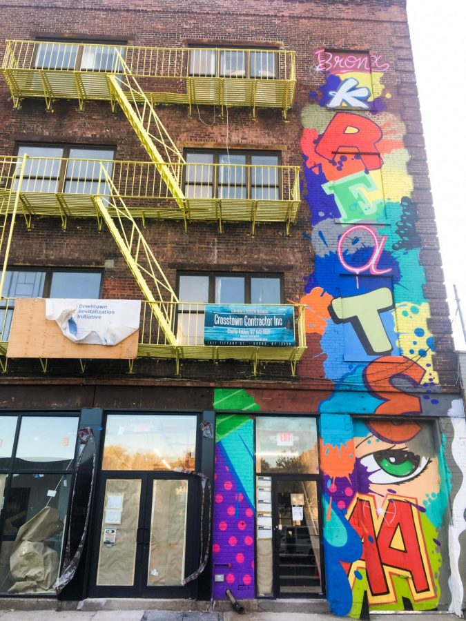 Bronx+Kreate+provides+studio+space+to+Bronx+artists.