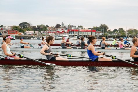 Rowing Competes in Cambridge