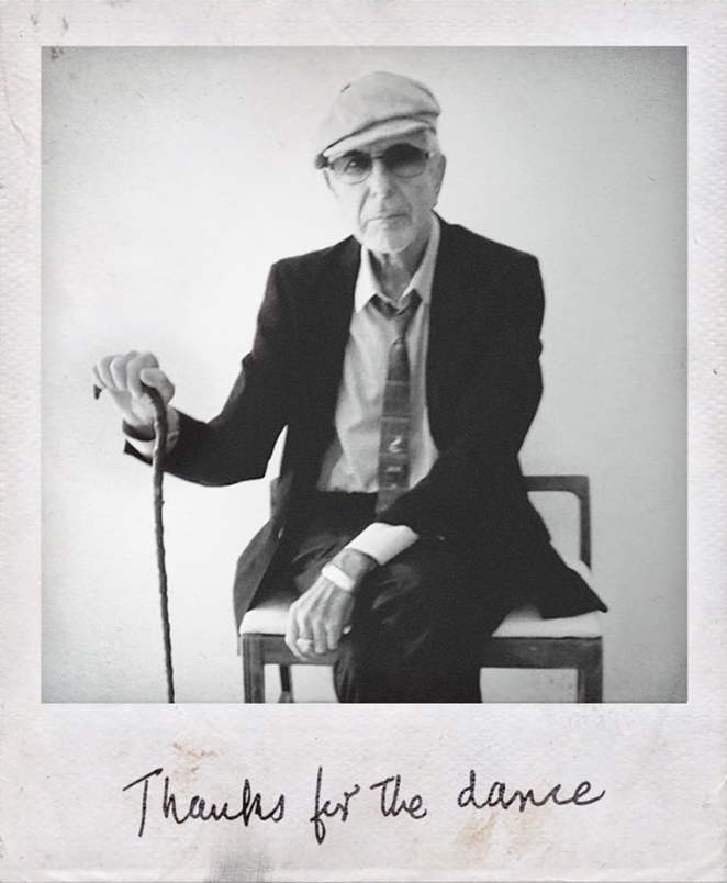 Courtesy+of+Leonard+Cohen%27s+official+Instagram