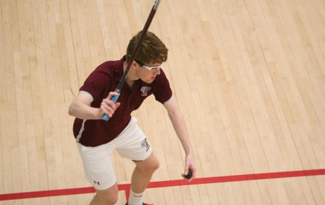 Fordham Squash took two of its three matches in the final weekend of November. (Alex Wolz/The Fordham Ram)