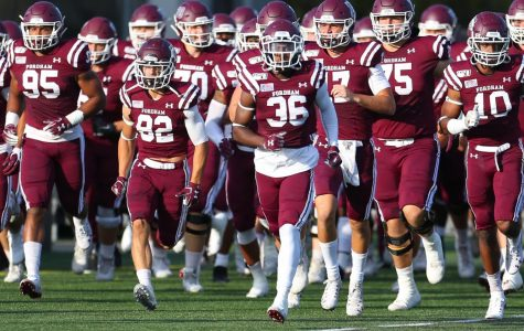 Fordham Football won't get to play until late-September due to COVID-19. (Courtesy of Fordham Athletics)