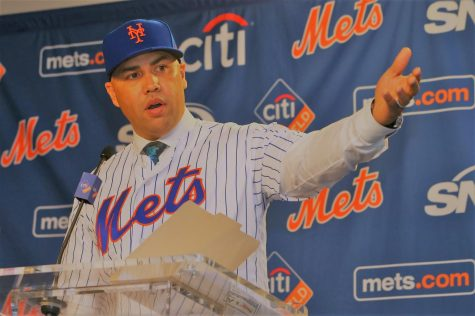 Carlos Beltran wasn't long for the Mets' manager position. He was historically short. (Courtesy of Flickr)