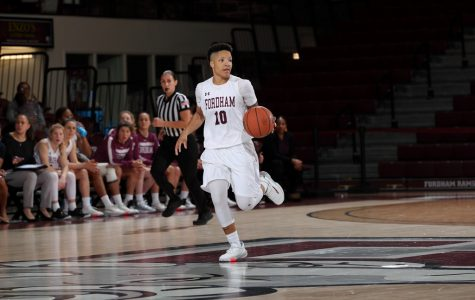 Bre Cavanaugh has become the A-10 leading scorer as the conference schedule intensifies. (Courtesy of Fordham Athletics)