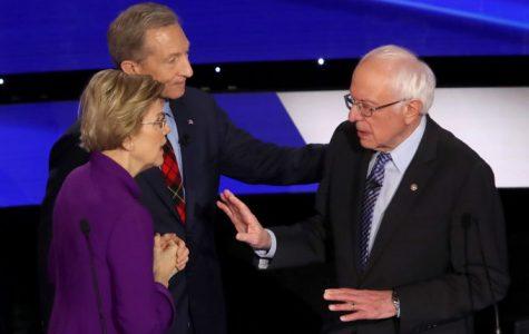 The most recent Democratic Primary debate highlighted the conflict between U.S. Senators Warren and Sanders. (Courtesy of Flicker)