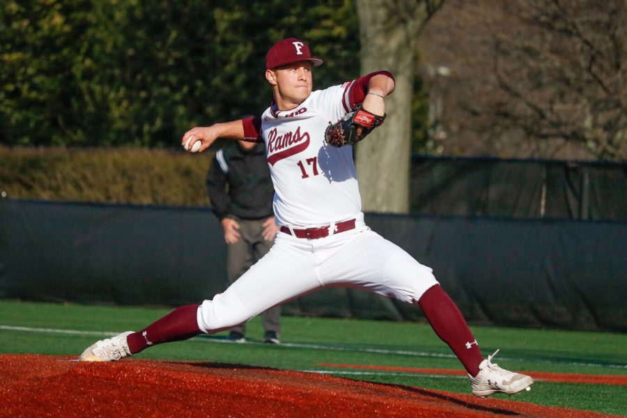 Fordham+Baseball+went+to+the+NCAA+Tournament+last+season%2C+but+the+team+is+off+to+new+goals+as+the+season+begins.+%28Julia+Comerford%2FThe+Fordham+Ram%29