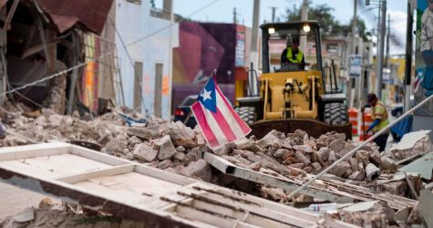 The United States must help Puerto Rico as it recovers from natural disasters under a corrupt government. (Courtesy of Twitter)