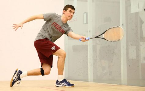 Fordham Squash brought their regular season to a successfdul finish. (Courtesy of Fordham Athletics)
