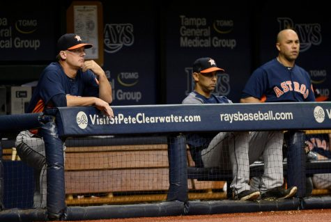 The talk surrounding the Houston Astros is not going away, and it