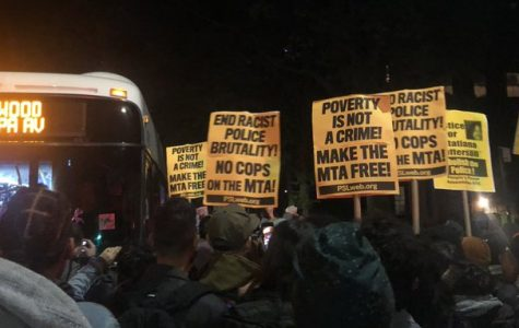 The protests against the policing of New York City subways are not feasible in their demands of the city. (Courtesy of Twitter)