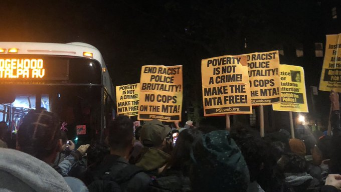 The+protests+against+the+policing+of+New+York+City+subways+are+not+feasible+in+their+demands+of+the+city.+%28Courtesy+of+Twitter%29