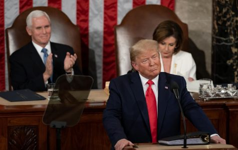 President Trrump's State of the Union Address was filled with partisan tension. (Flickr)