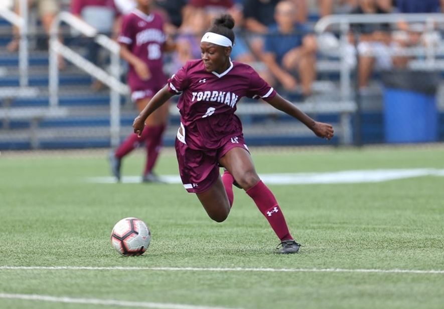 Danielle+Etienne+%28above%29+has+competed+with+the+Haitian+national+team+as+just+a+freshman+at+Fordham.+%28Courtesy+of+Fordham+Athletics%29