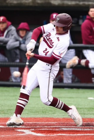 Jake Guercio (above) scored the winning run for Fordham on Wednesday. (Courtesy of Fordham Athletics)