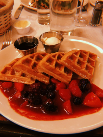 Balthazar features a diverse and delicious menu. (Courtesy of Alexandra Lange/ The Fordham Ram)