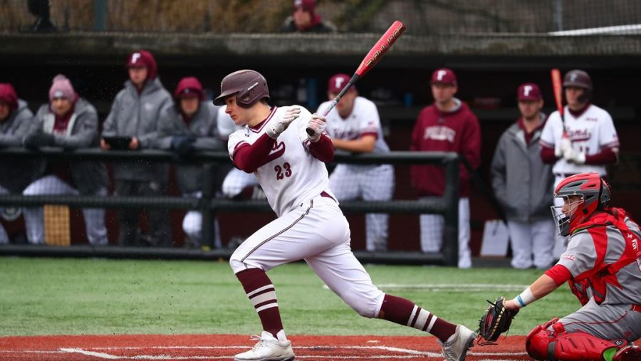 After+a+difficult+1-6+start+to+the+season%2C++Baseball+now+finds+itself+winners+of+four+straight+games.+%28Courtesy+of+Fordham+Athletics%29