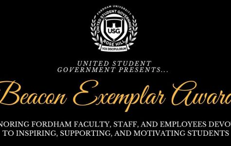The Beacon Exemplar Award honors students, faculty and staff, who majorly inspire or support the Rose Hill community. (Courtesy of Facebook)