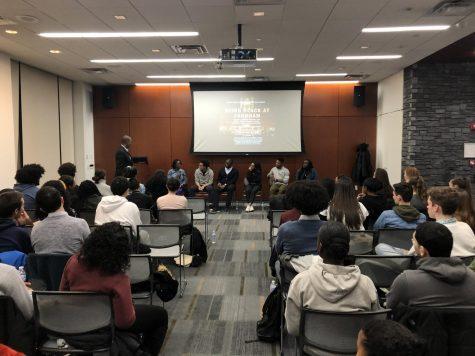 Black students represent less than five percent of Fordham's udergraduate population. (Cameron DeChalus/The Fordham Ram)
