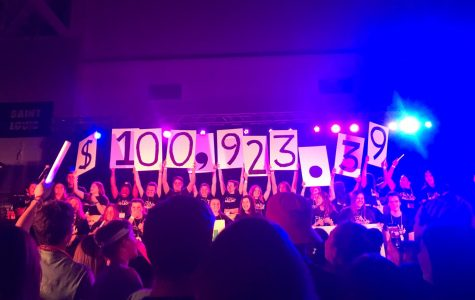 This year, FDM raised $100,923.39 to donate to the B+ Foundation. (Sarah Huffman/The Fordham Ram)