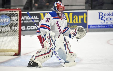 There are three goaltenders on the Rangers roster, and sometimes three is truley a crowd. (Courtesy of Flickr)