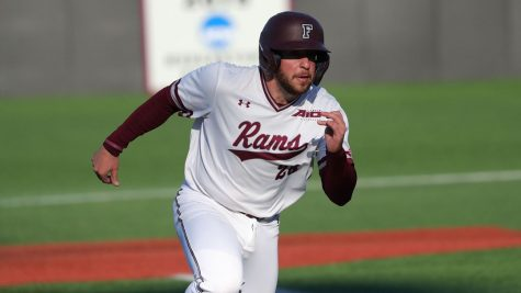Nick Labella (above) helped lead Fordham to a weekend sweep over Iona. (Courtesy of Fordham Athletics)