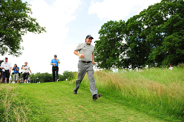 Phil Mickelson (above) found disaster at the 2006 U.S. Open at Winged Foot. (Courtesy of Flickr)