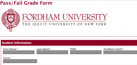 Rather than obtaining a letter grade, students can now designate classes pass/fail, with no effect on their GPA. (Jennifer Hoang / The Fordham Ram)